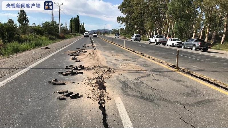 阿根廷强震 至少11人受伤