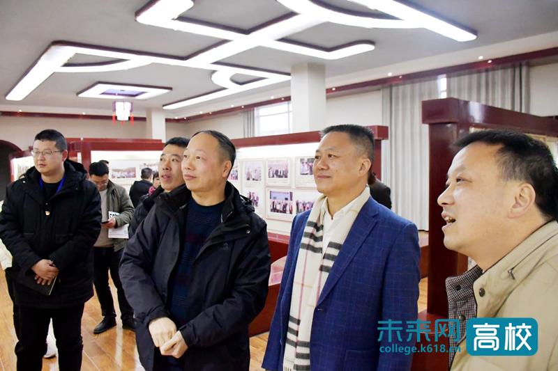 贵州财经大学领导到贵州财经大学商务学院开展党建调研