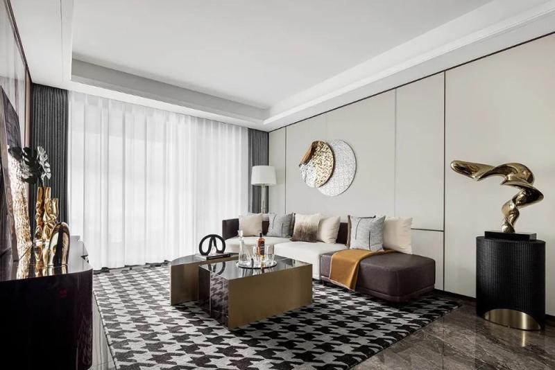 143平米的四居室,采用现代风格装修的效果如何呢?