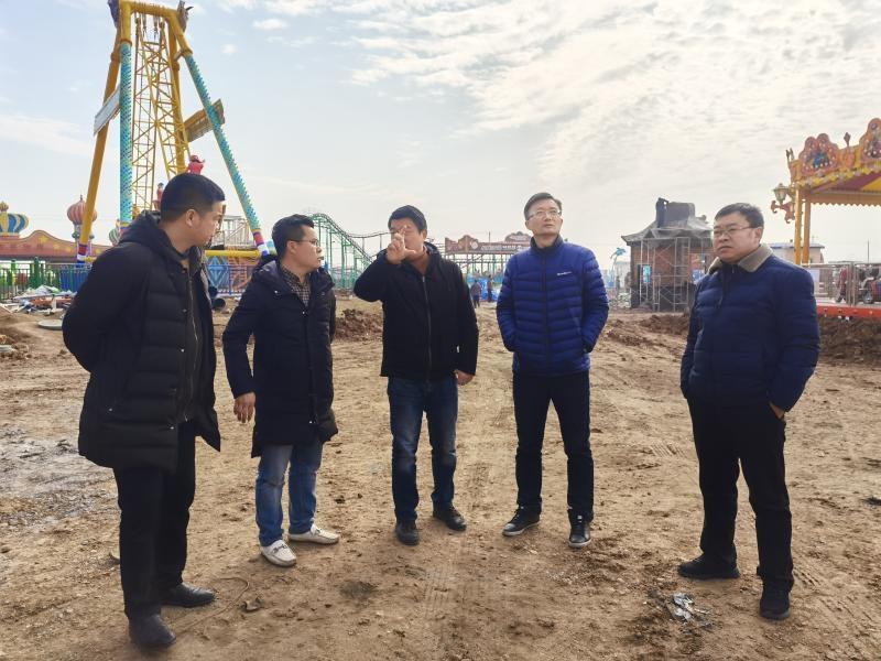 滁州市市场监管局带队帮扶南谯区大型游乐设施使用运营企业