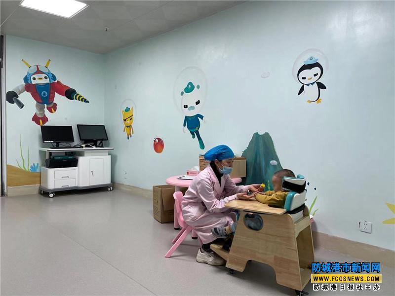 市婴幼儿照护服务指导中心、市残疾儿童康复救助定点机构揭牌