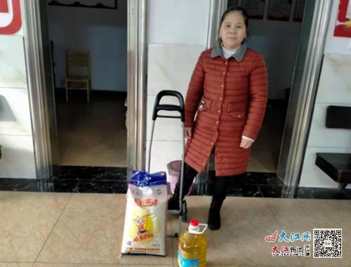 袁州区金瑞镇党委政府积极开展扶贫帮困送温暖活动(图)