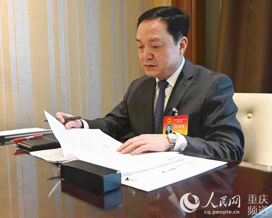 """王玉祥代表:重庆机电集团着力布局""""4+1""""核心产业"""