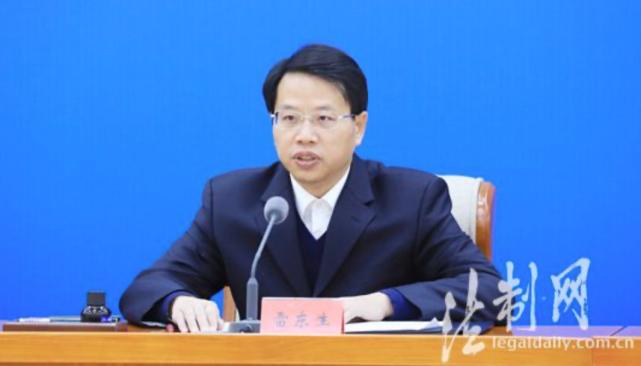 """全国扫黑办副主任""""空降""""宁夏,出任政法委书记"""