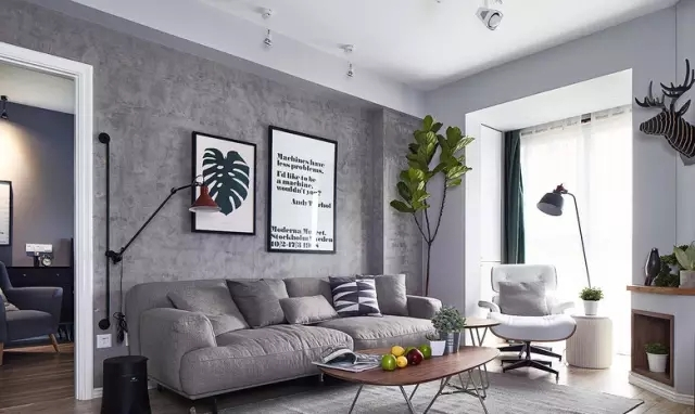 邻居家93平米的三居室,仅仅用了8万元,就完成了装修,如此划算!