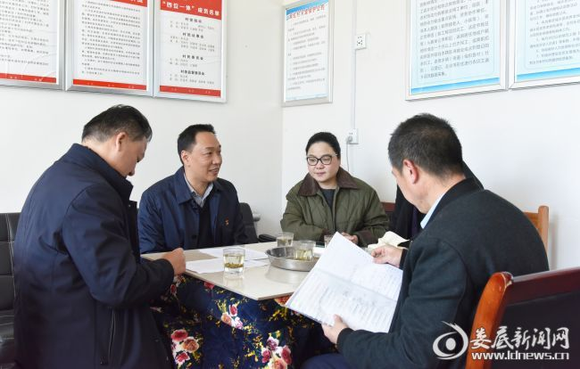 双峰县领导赴沙塘乡督导乡村振兴和软弱涣散村党组织整顿工作