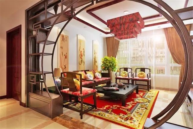朋友买的94平米三居室,一共才花8万,这中式风格太美了!