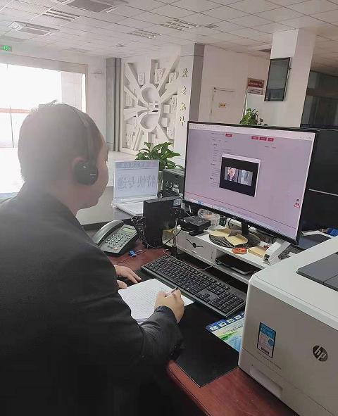 【舒城法院】海外连线促调解 跨国视频解纷争