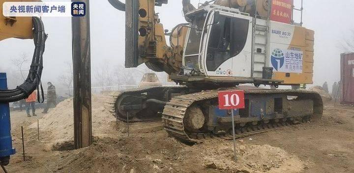 栖霞金矿爆炸事故救援进展:10号钻引孔已打到预定位置