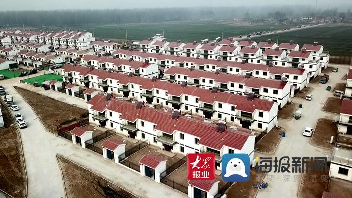 东明黄河滩区迁建首个村台社区交付 力争春节前1141户全部搬进新居