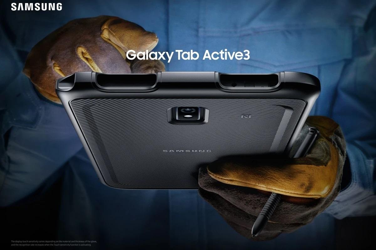 三星在美发售 Galaxy Tab Active3 三防平板:可换电池,490 美元起