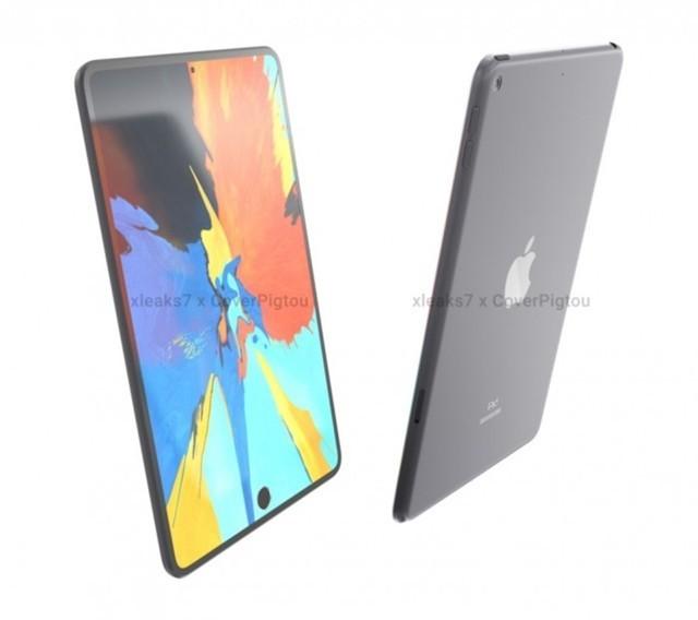 iPad mini 6最新渲染图曝光:屏下指纹识别+边框超窄