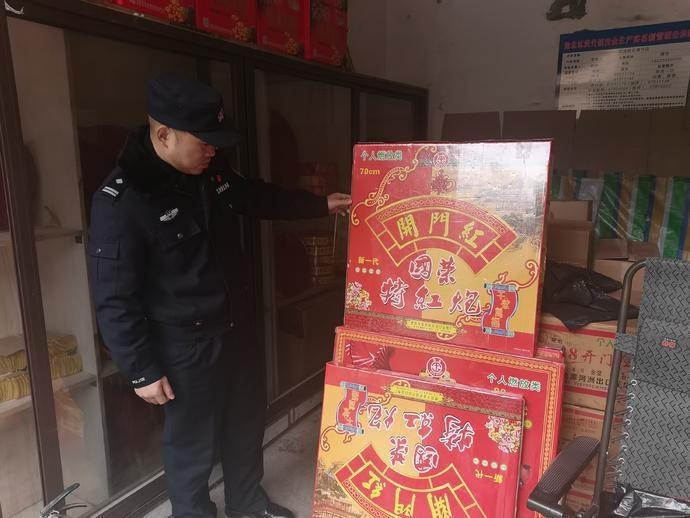 渝北公安四项举措强化节前烟花爆竹安全监管
