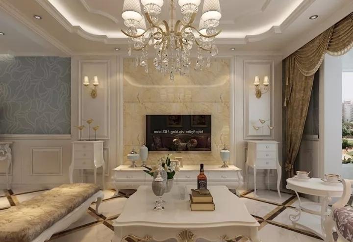 120平米欧式风格三居室,预算11万,点击看效果图!