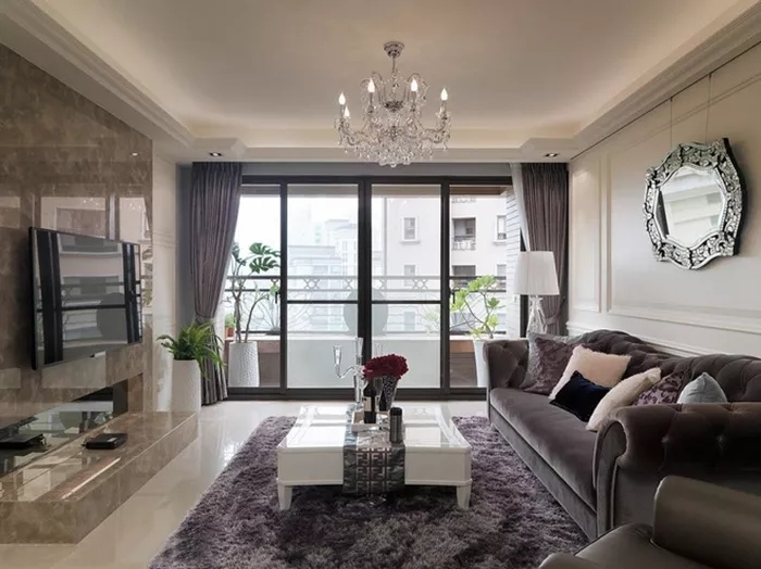 116平米的三居室,采用欧式风格装修的效果如何呢?