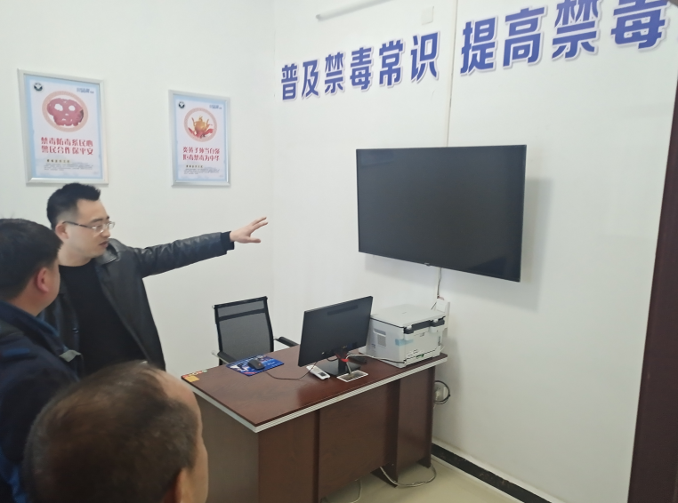 桂阳县禁毒办率队赴衡阳县学习交流社区戒毒(康复)工作