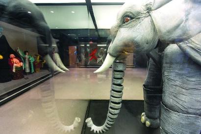 沪上4000平方米空间展示海派木偶艺术