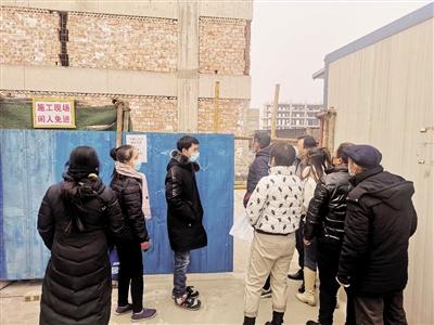 西安熙景台楼盘本应一年前交房 项目手续不全如今竟还是工地