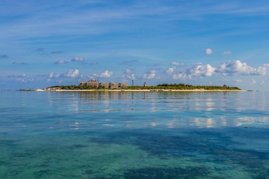 富饶的西沙群岛,是个可爱的地方