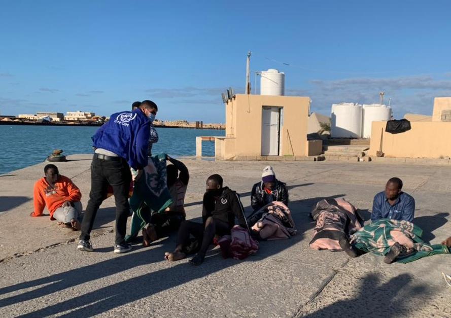 利比亚海域今年首起沉船事故致40多人丧生 遇难者均来自西非国家
