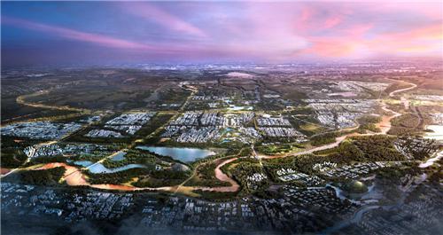 """三载先行区 一座国博城,绿地因何成就济南""""北起""""人居巅峰?"""