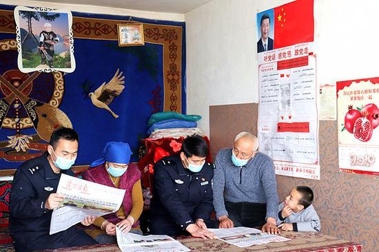 新疆阿勒泰:民法典宣传走进牧区