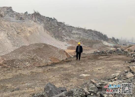 上高县自然资源局开展矿山巡查(图)