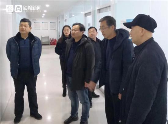 淄博市水利局到高新区检查城市供水安全工作
