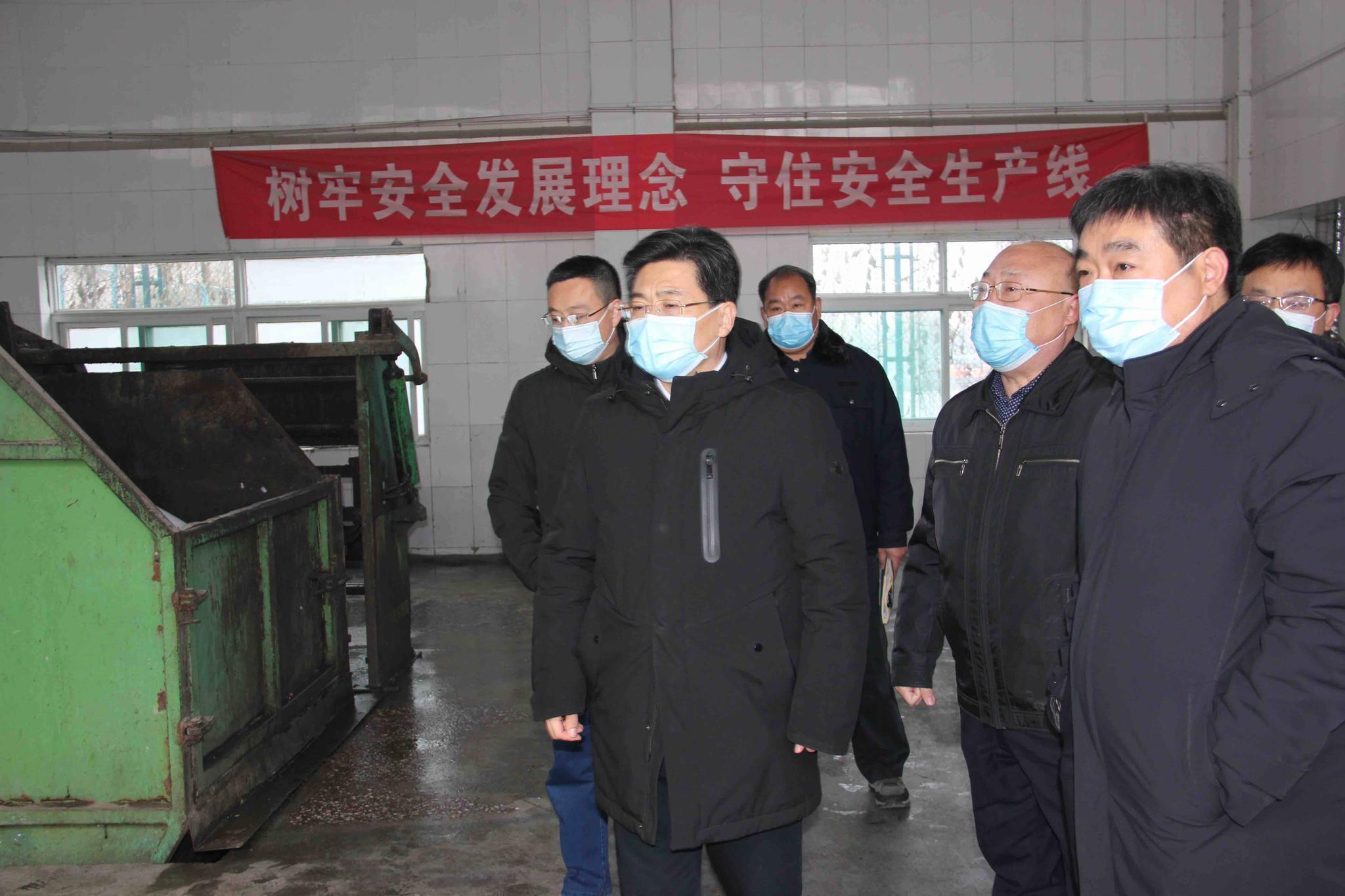 """济南市城管:""""四不两直""""开展安全生产和疫情防控督导检查工作"""