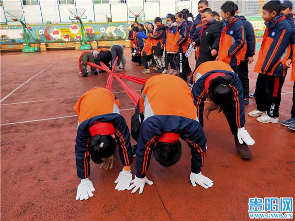 贵阳:民族体育运动和非遗小课堂走进校园