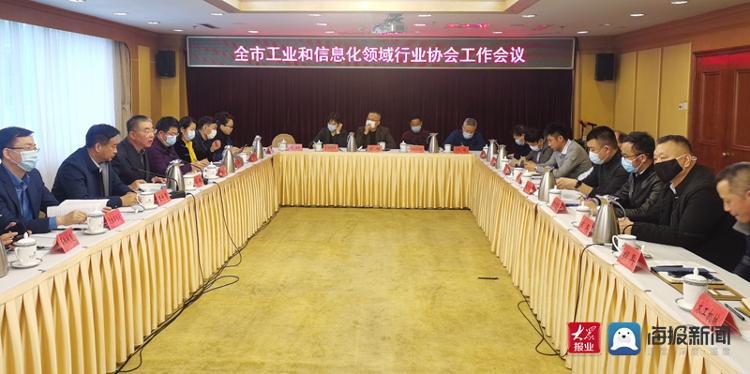 青岛市工业和信息业领域行业协会工作会议召开