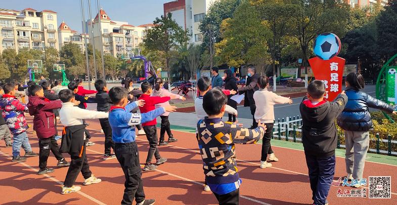 渝水区仙来学校开展体育期末考核(图)