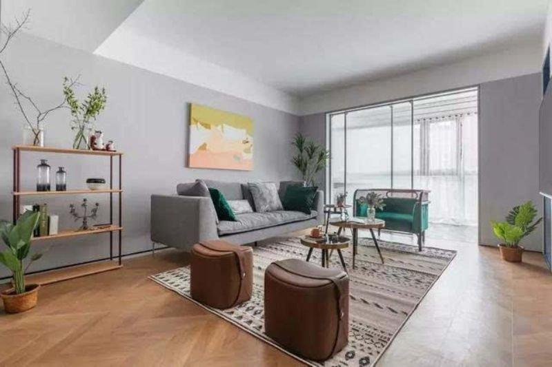 花13万元装修这套95平米的二居室,北欧风格,给大家晒晒!