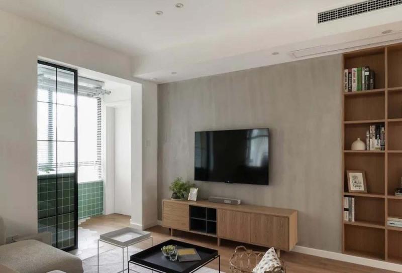 115平米的现代风格,原来二居室还可以这样装修!
