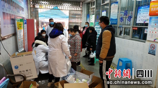 泸州江阳:为精神残疾患者免费发放药品
