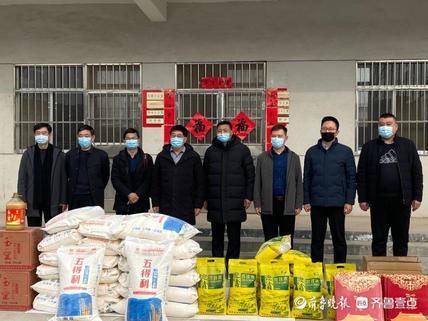 泰安市文旅局走访慰问肥城市董家南阳村,精准扶贫暖人心