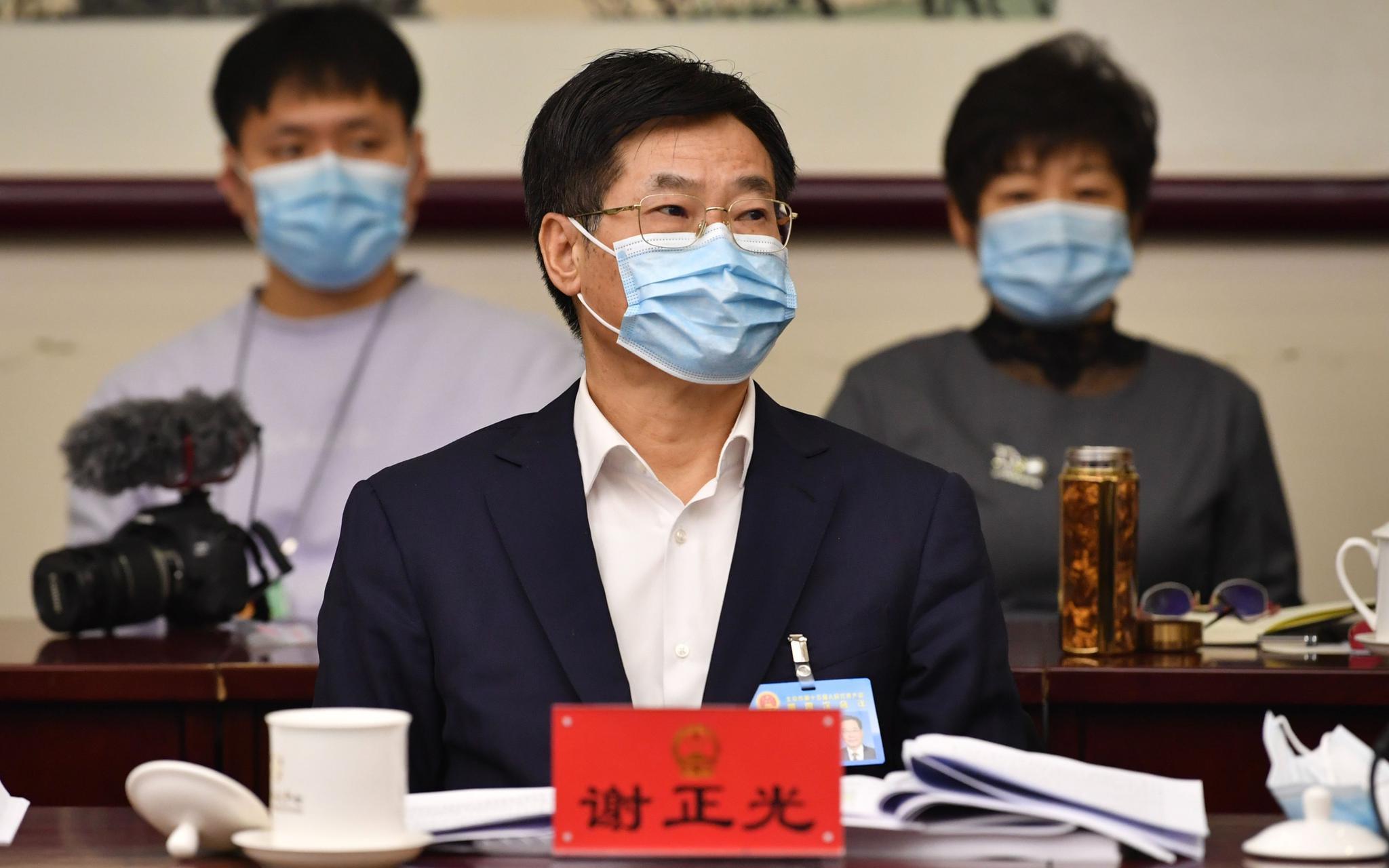 履新市交通委主任后 谢正光在北京市人代会上谈了这些交通规划