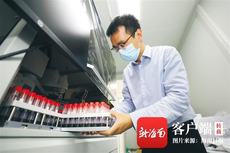 """海南各医疗机构""""出招""""优化服务 简化流程提高核酸检测能力"""