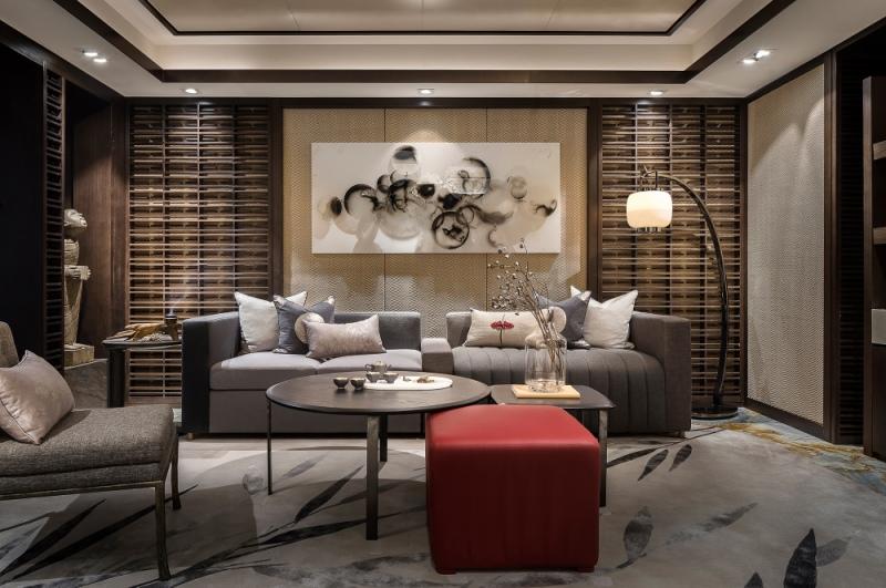 新中式轻奢风格是什么意思?300平米的别墅这样装修好不好?