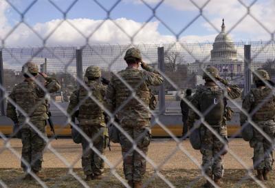 外媒:150多名国民警卫队员新冠检测阳性 曾为拜登就职典礼安保