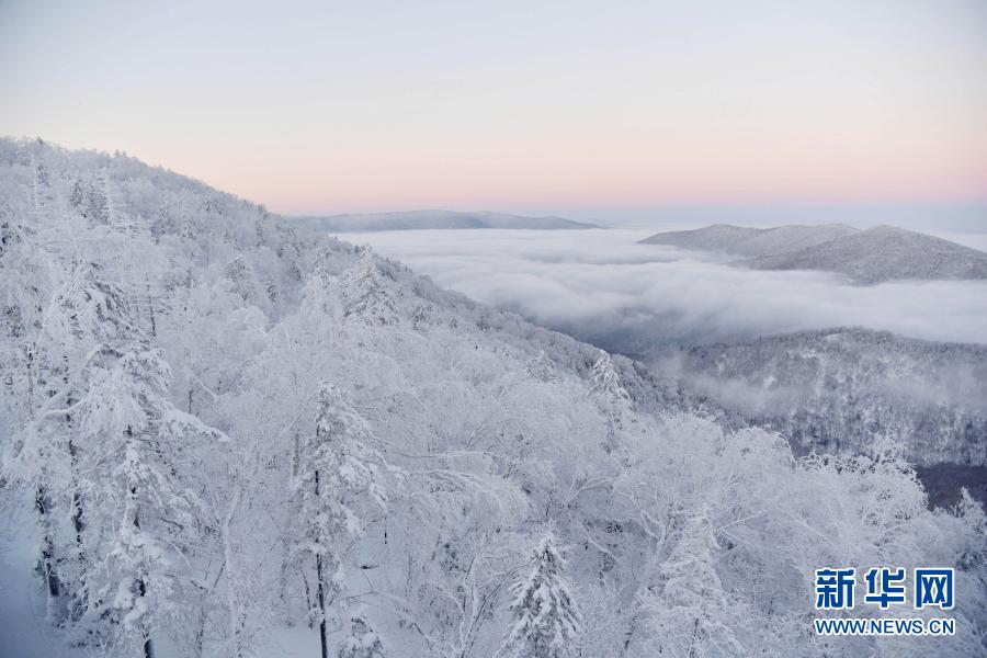 雪乡国家森林公园冬日美景