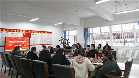 """潍城区教体局主要领导专题调研""""新为教育"""""""