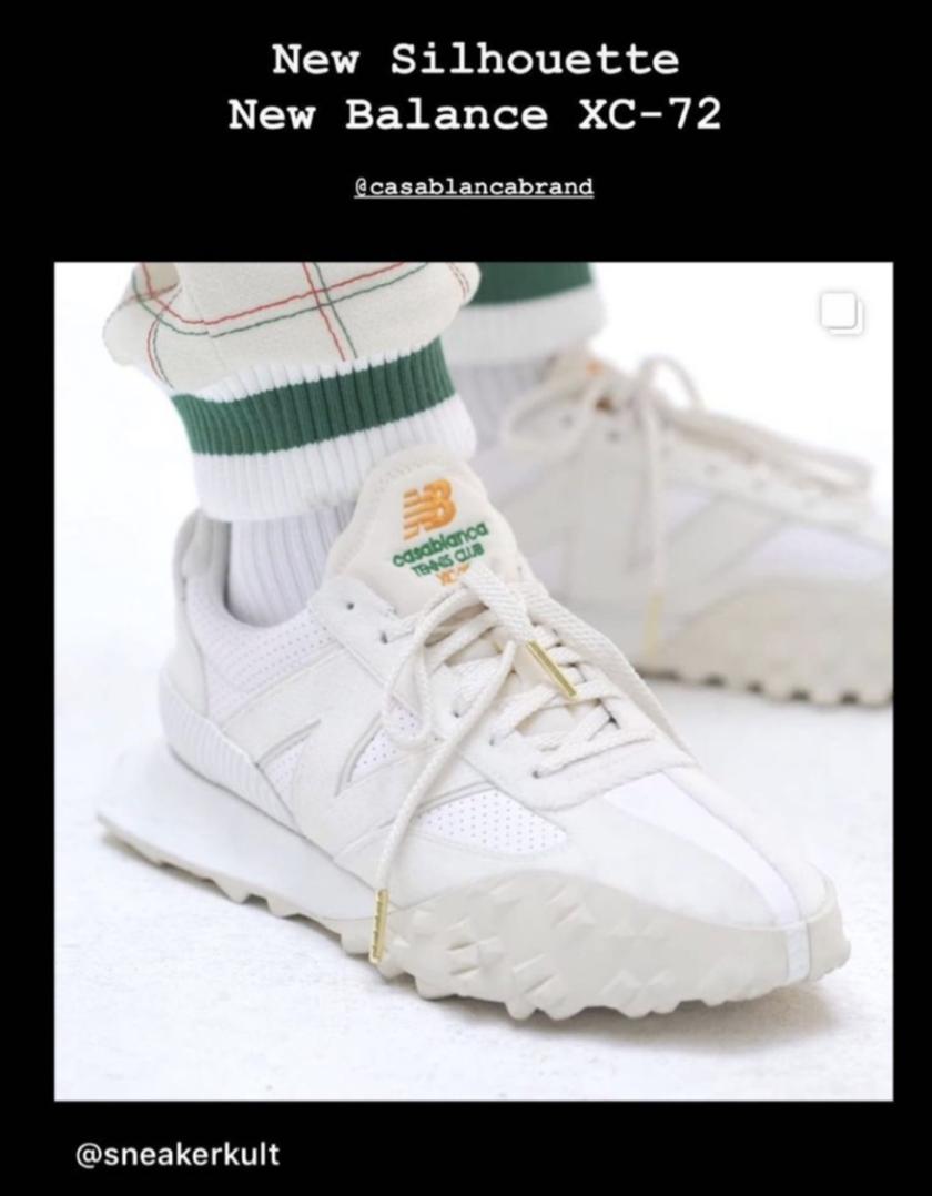 一周运动新品 | New Balance四度联手男装潮牌,美津浓和空山基推Y2K风格跑鞋