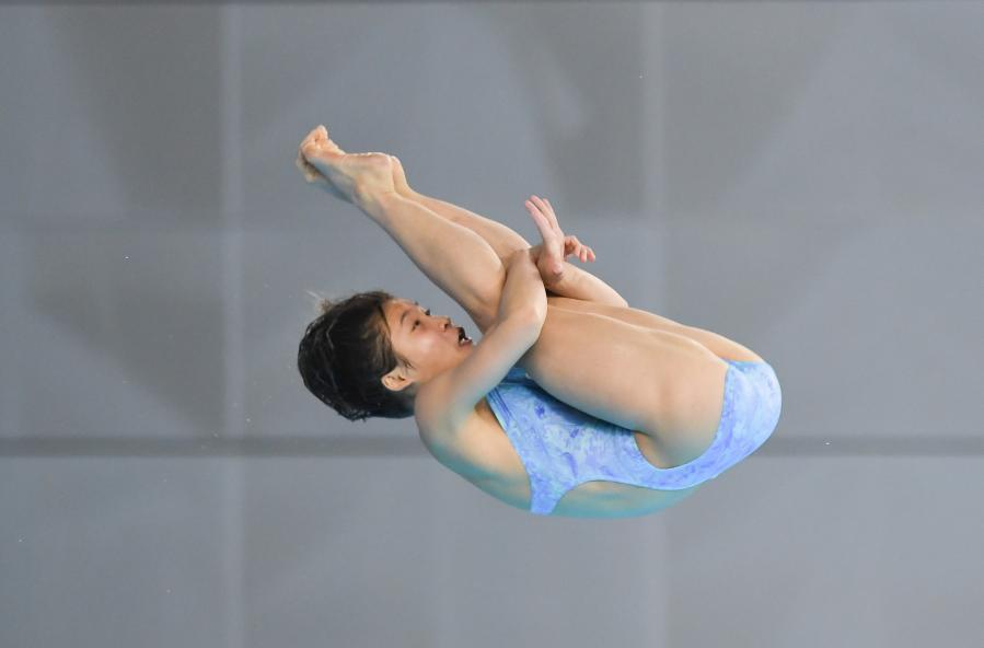 2021年跳水项目东京奥运会、世界杯选拔赛:女子10米跳台半决赛赛况