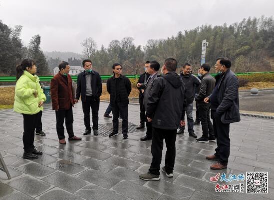 江西省交通运输厅副厅长王昭春调研靖安公路工作(图)