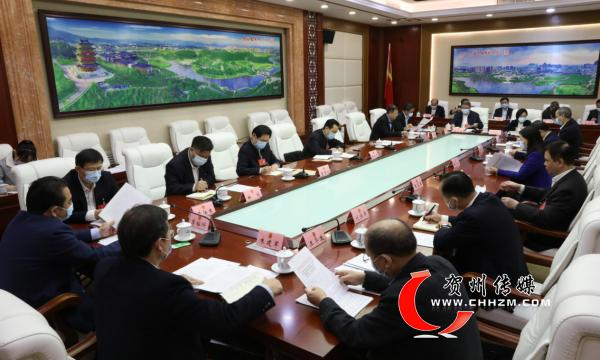 贺州市代表团审议自治区十三届人大四次会议有关决议草案