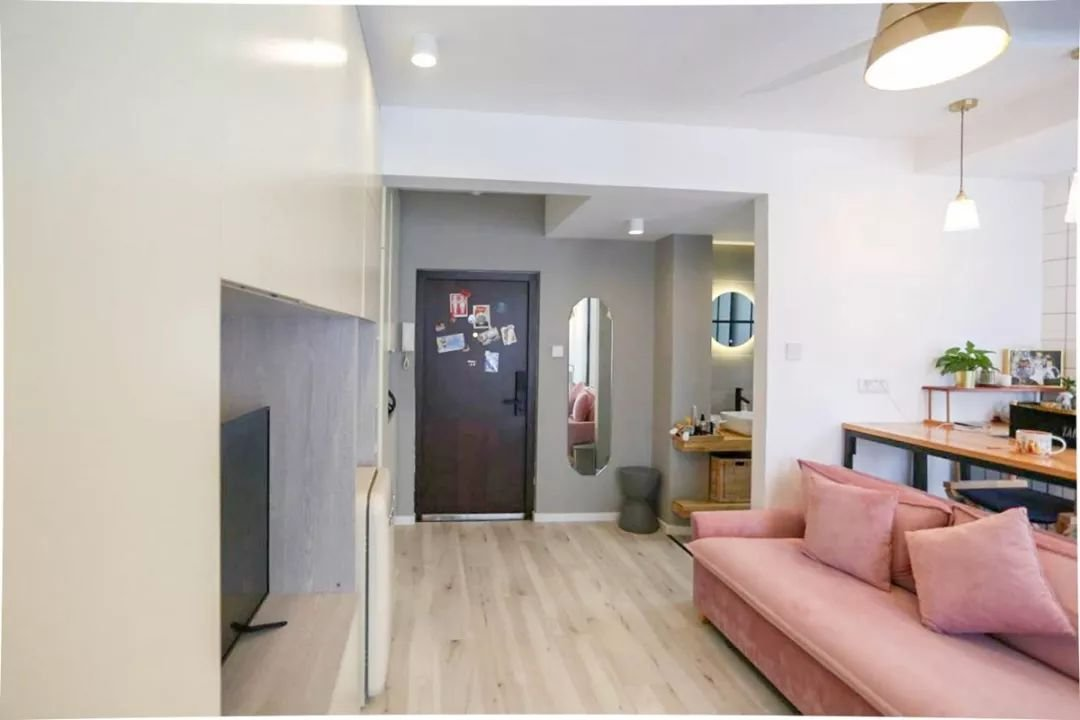 公寓100问丨39㎡蜗居单身公寓,简约却很温馨,这样设计视觉空间大一倍!