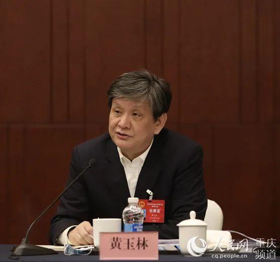 """黄玉林代表:让渝中""""小心脏""""迸发出大能量图片"""