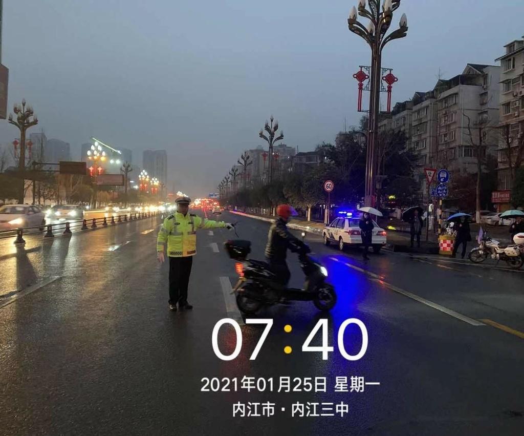 1月25日起 内江城区这些路段二三轮车要走专用道