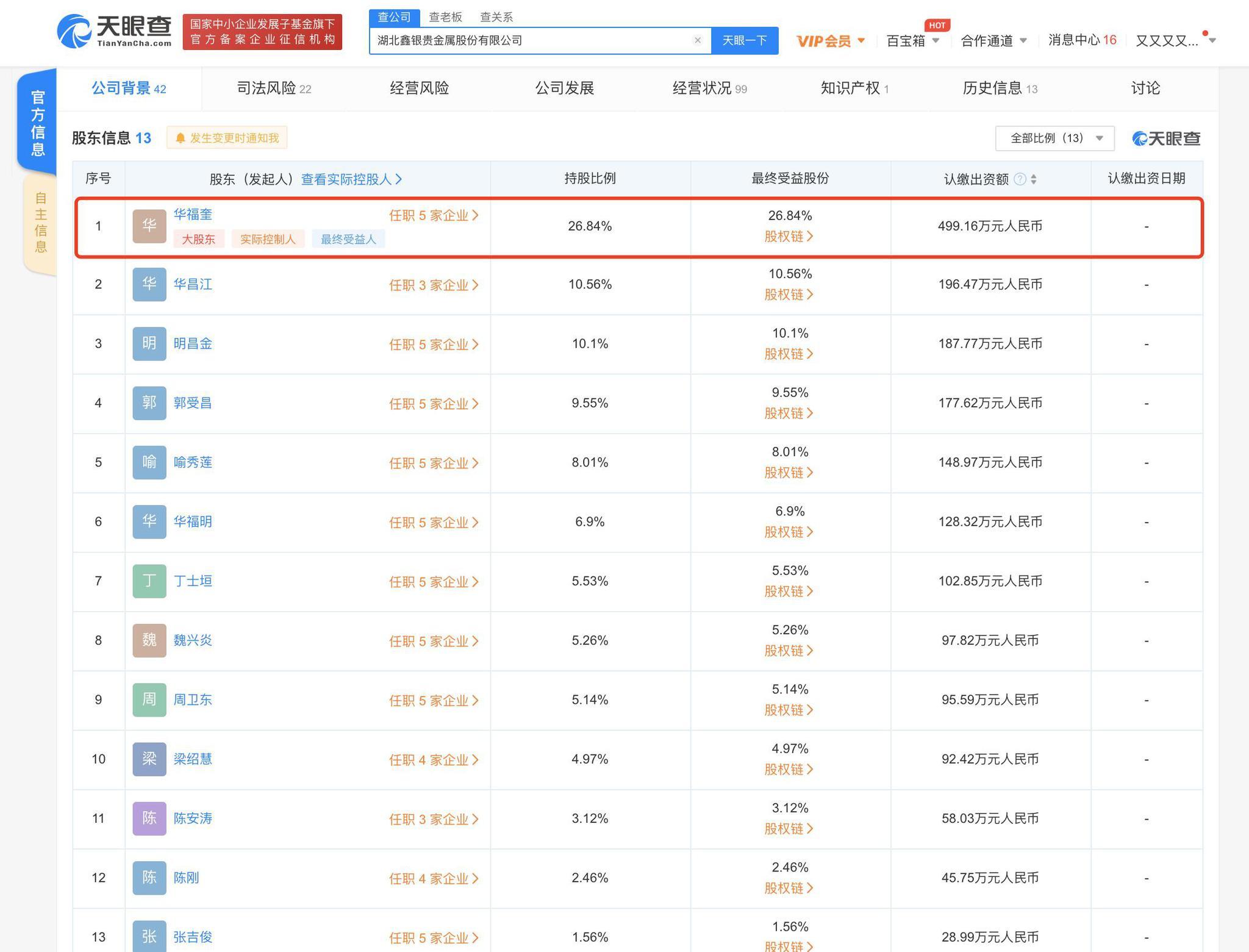 网曝华晨宇大伯银矿公司致村民尘肺病
